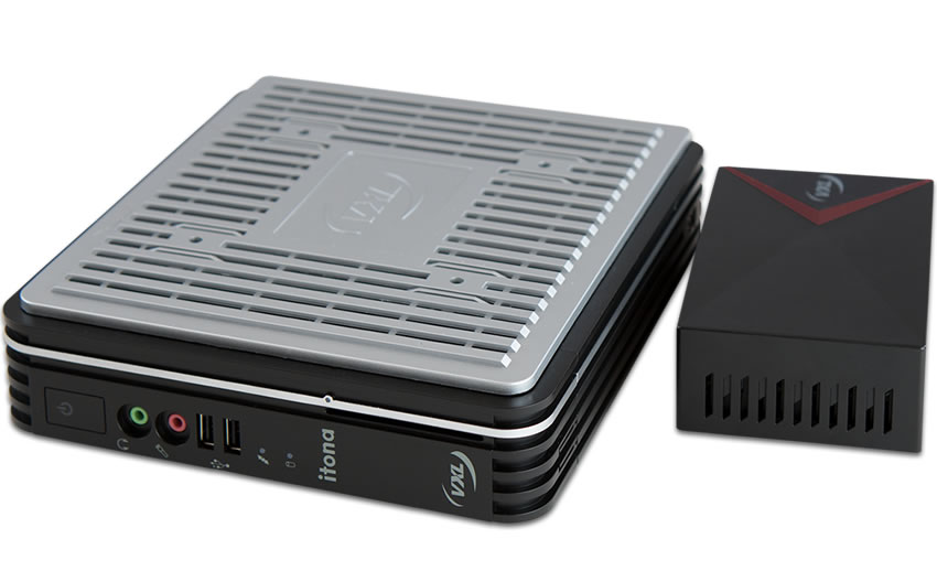 Compact, energy-efficient, powerful media players